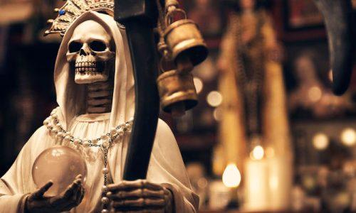 soñar con la santa muerte