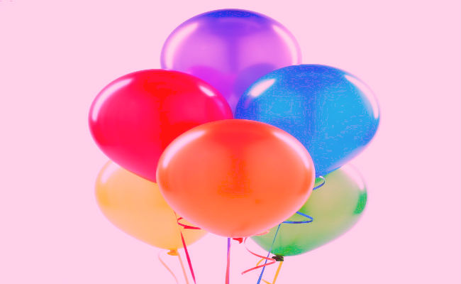 sonhe com balões