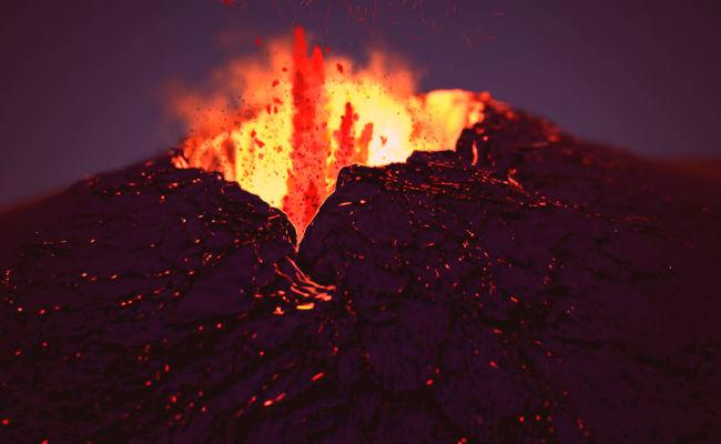 soñar con lava