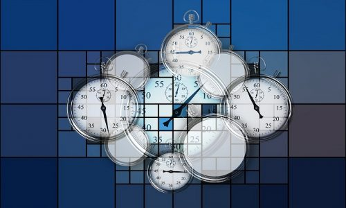 soñar con cronometro